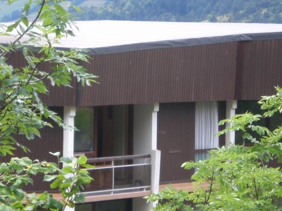 vue sur le balcon